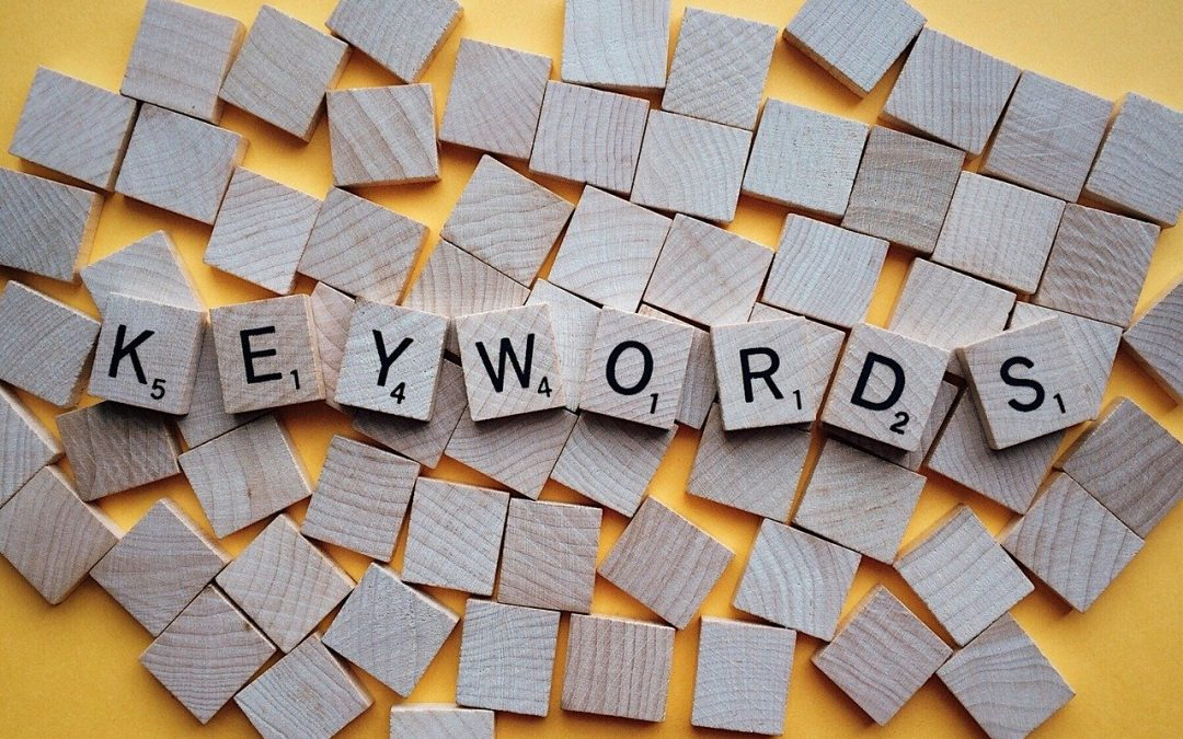 How do I choose the right content and search keywords for my webpage or blog article?
