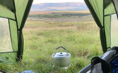 Solo Wild Camping in Brecon Beacons