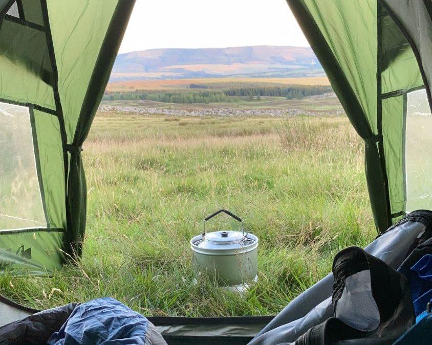 Wild Camp Brecon Beacons
